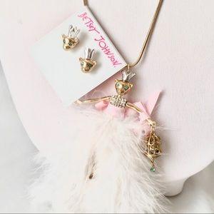 Betsey J 'Marie Antoinette' Mouse Set NWT/HTF